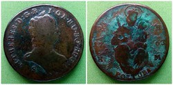 Mária Terézia 1 poltura 1763 PH KM S / id 1423/