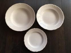 Gránit barokk mintás tányérok