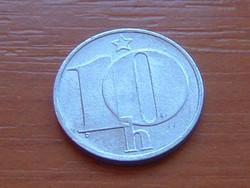 CSEHSZLOVÁKIA 10 HALERU 1989 ALU.