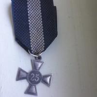 Náci 25 év szolgálati kitüntetés