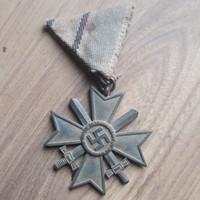Német,náci,kardos érdemkereszt kitüntetés
