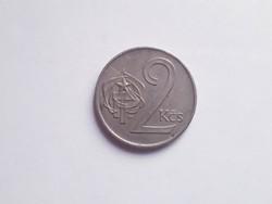 2 csehszlovák korona - 1975