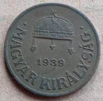 1 Fillér 1939.