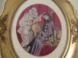 Csodás Pieró és Pierett gobelin kép