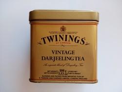 Régi Twinings fém teás doboz 3db.