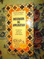 Patchwork és aplikált  kézimunka könyv - idegen nyelvű, de jól használható kézimunkakönyv