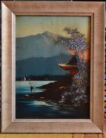 ISMERETLEN festmény, 1900.k., olaj fatábla, 34,5 x 25 cm, jelzés nélkül