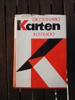 Diccionario karten - spanyol nyelvű értelmező szótár