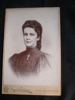 ERZSÉBET KIRÁLYNÉ SZISZI EREDETI JELZETT UTOLSÓ HIVATALOS FOTÓ FÉNYKÉP KUK HABSBURG 1898
