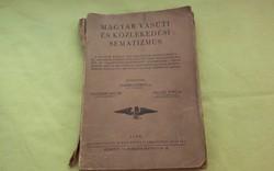 Magyar Vasúti sematizmus 1938.  + 1940.Nemzeti újság!