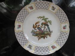 A K Kaiser madaras , virágos dísz tányér