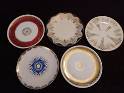 Gyönyörű porcelán desszertes tányérok, lenyűgöző mintával. Hibátlanok!