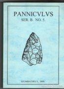 Panniculus régészeti közlemények