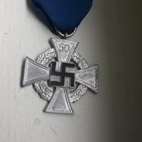 Náci 50 év szolgálati kitüntetés