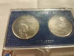 1973-as Petőfi 50+100 forint eredeti tokjában