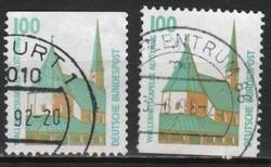 Bundes 1344 Mi 1406 C-D       4,00 Euró