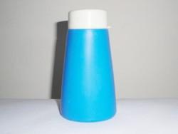 Retro műanyag tisztítószer por tartó szóró tégely flakon - Made in DDR - NDK Keletnémet 1970-es évek