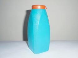 Retro műanyag tisztítószer hintőpor por tartó szóró tégely flakon - 1970-es évekből
