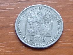 CSEHSZLOVÁKIA 50 HALERU 1978