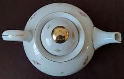 Hollóházi porcelán teáskanna
