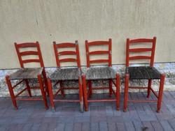 Paraszt szék 4 db eladó! Szék 4 db eladó!