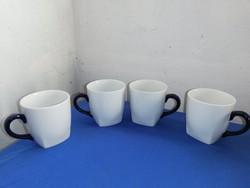 4db Retro Malév Bögre - Hollóházi Porcelán