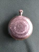 Arany,és ezüst Remontoir Cylinderes  10 rubis zsebóra