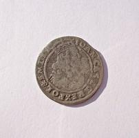 II. János Kázmér (1648-1668) ezüst 6 garas 1665