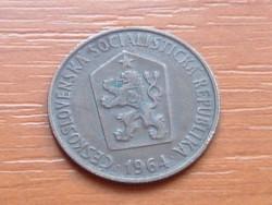 CSEHSZLOVÁKIA 50 HALERU 1964