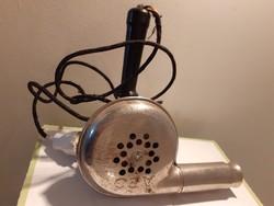Retro AEG fém hajszárító régi fodrász kellék dekoráció