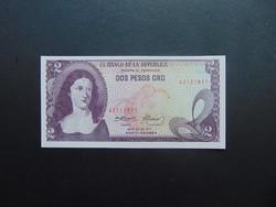 2 peso 1977 Kolumbia UNC !