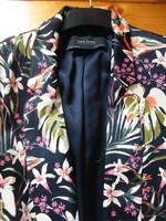Zara gyönyörű virágos női blézer, kabát!