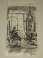 Magyar művész: Enteriőr, 1914