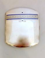 Art Deco Ezüst cigarettatárca, doboz