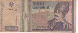 Románia 500 Lei 1992 december  román rendszerváltás