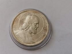 Szt István ezüst 5 pengő,gyönyörű darab kapszulában,