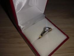 Gyémánt gyűrű, jeggyűrű, eljegyzési gyűrű