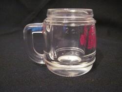 Miniatűr likőrös pohár Grassl Gebirgs Enzian 2cl 5cm