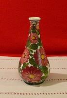 Kispesti régi jelzett váza, szálváza nagyon szép állapotban