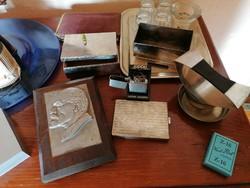 Íróasztalra való  kellékek retro 50-es évek