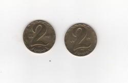 2  x 2 Forint 1979-1978  Magyar Népköztársaság