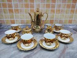 Wunsiedel Arany Kávés Készlet