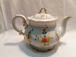 Zsolnay nagy teás porcelán kiöntő