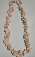 Elegáns kagyló nyaklánc,nyakék.
