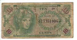 10 cent 1965 USA Military