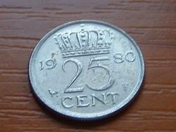 HOLLANDIA 25 CENT 1980