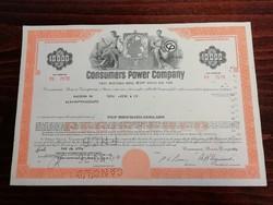 Consumers Power Company USA részvény