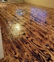 Régi padló lerakással együtt
