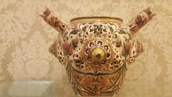 Zsolnay különleges kétfülű váza