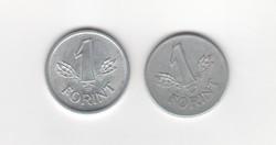 2  x 1 Forint 1979-1989 Magyar Népköztársaság
